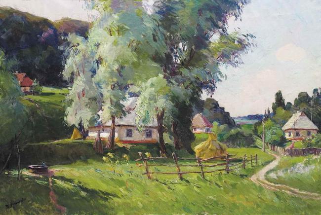 Над селом, 1960-ті