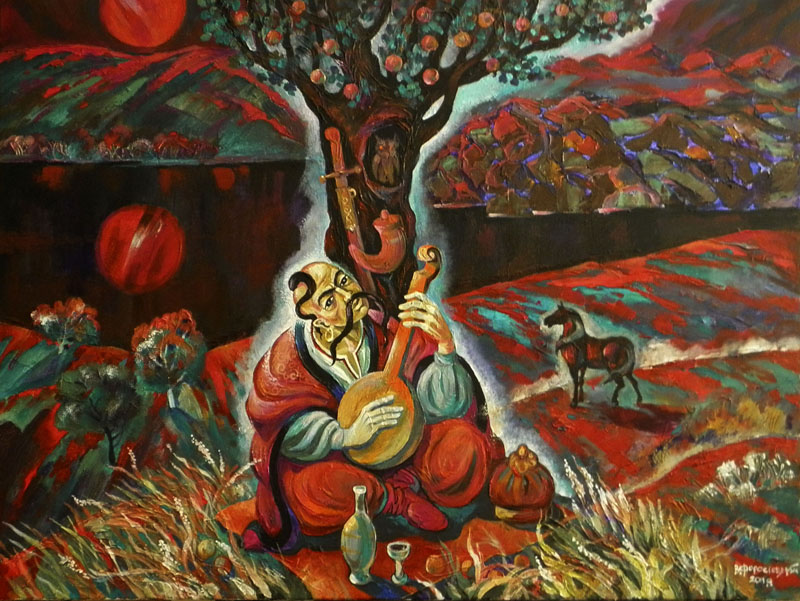 Нічні видіння о. Св. Георгія Яблуневий спас
