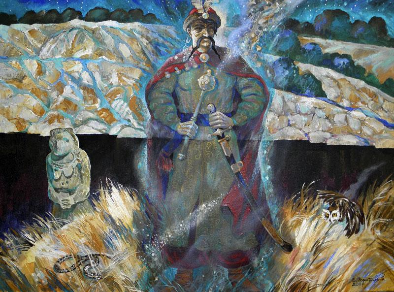 Нічні видіння о.св. Георгія Старий гетман