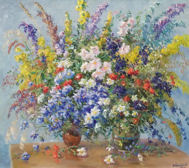 Польові квіти, 1985р.