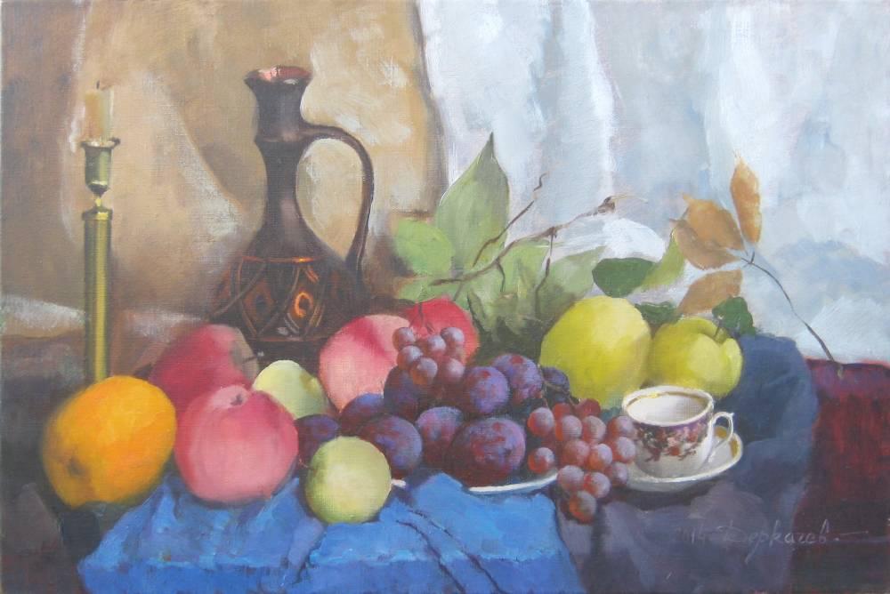 Сливи,яблука,виноград