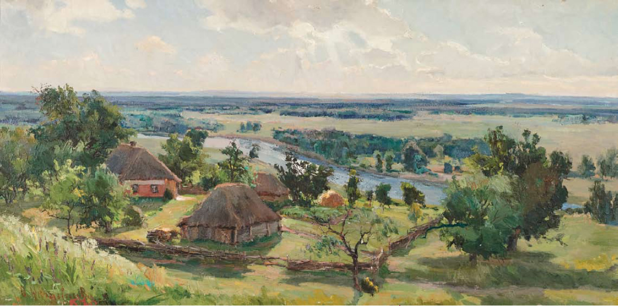 Там, где жил Короленко 1957