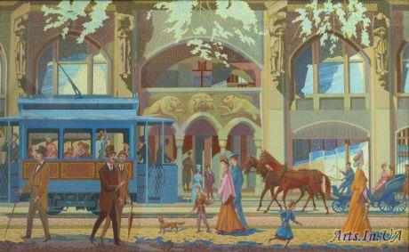 Триптих Соломия Крушельницкая. Левая часть .Ностальгия о Львове