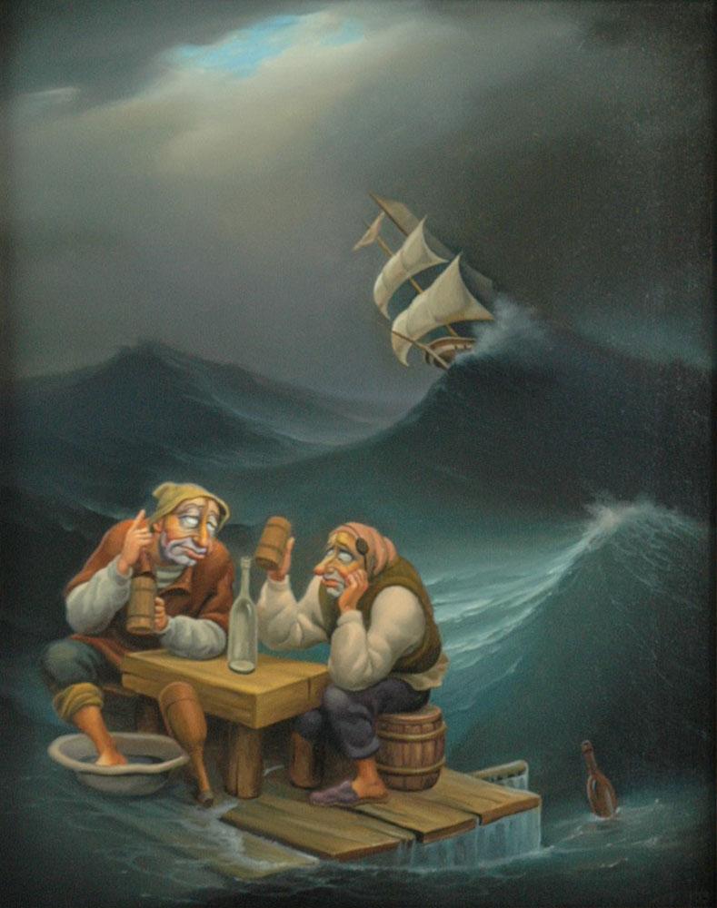 За тех, кто в море