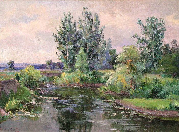 Зеленый пейзаж, 1959