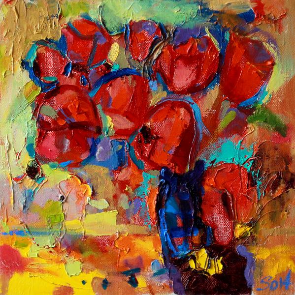 триптих Тюльпани1