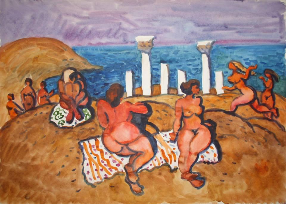 Міський пляж в Херсонесі