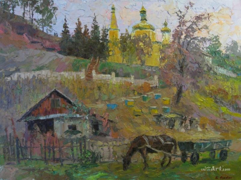 Осень на Тернопольщине