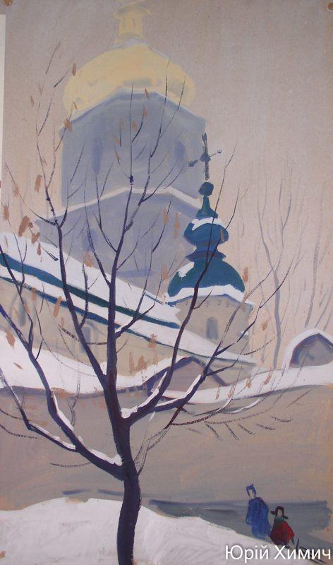 Зимовий Київ.Санчата2