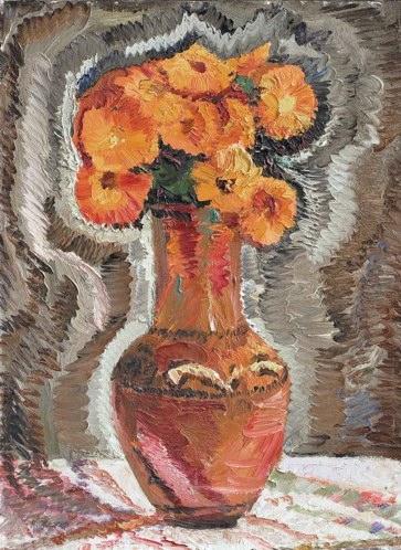 «Декоративный натюрморт», 1981 г.;