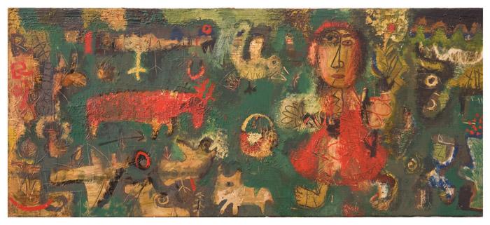 Буба с животными