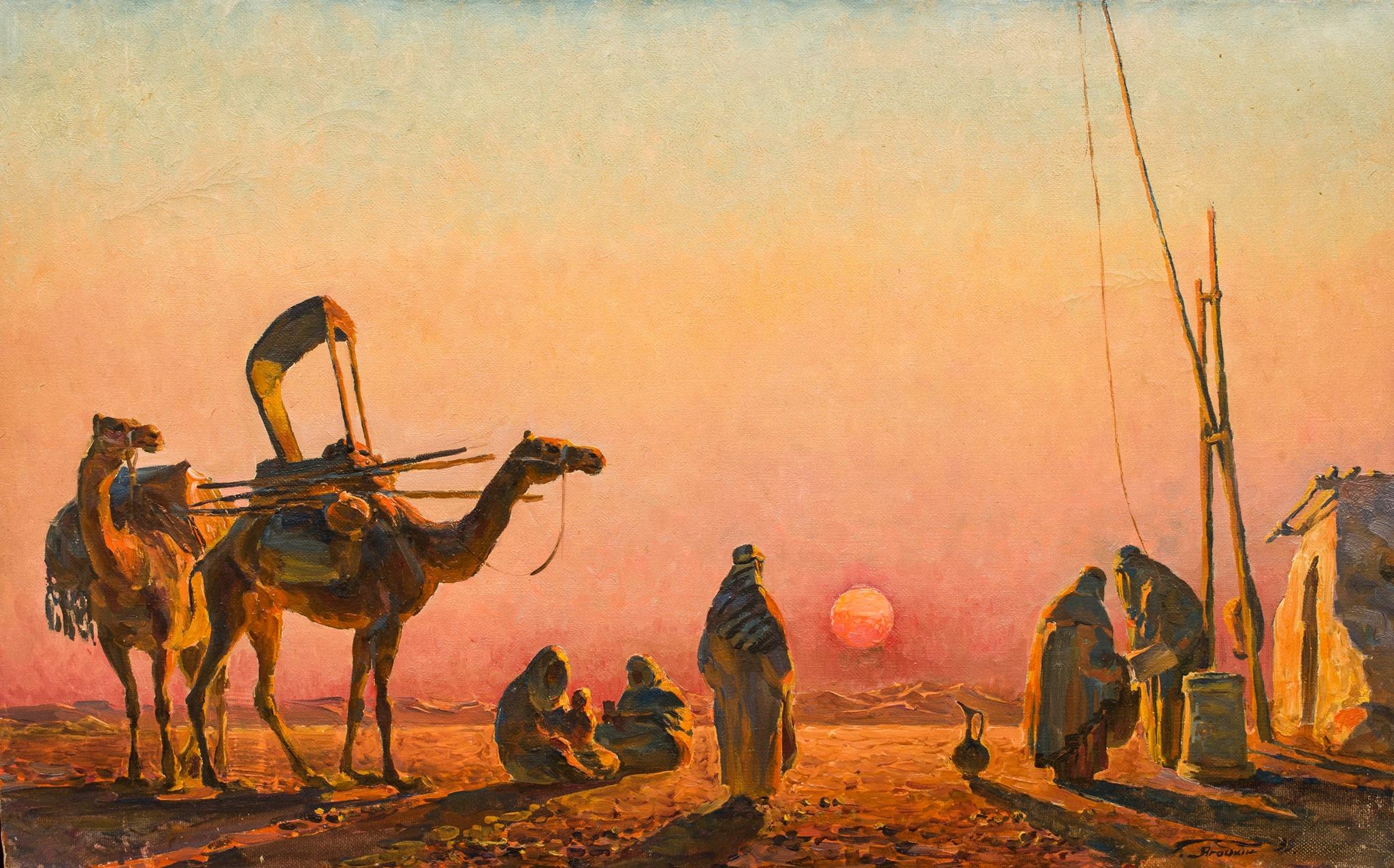 Пустеля.Вечір