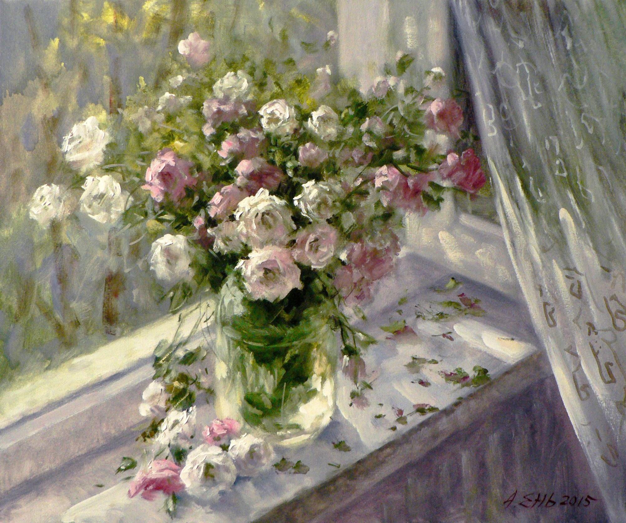 Розы для любимой женщины