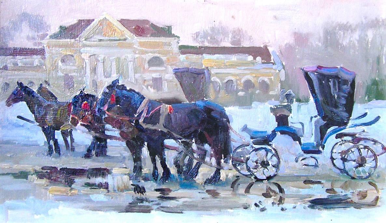 Зима у Миргороді