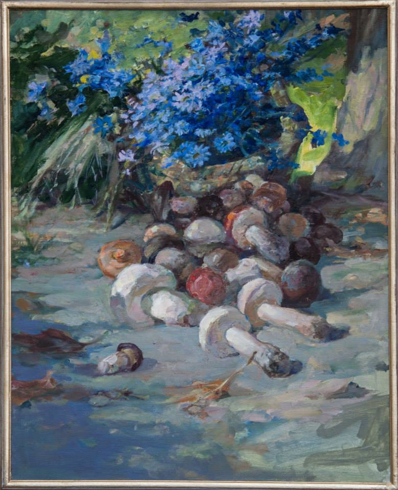 Натюрморт з грибами