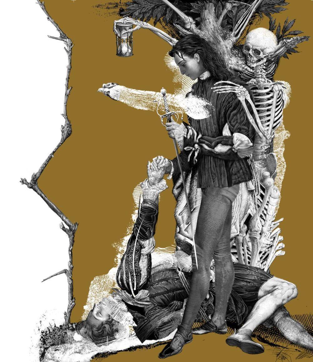 Ромео и умирающий Парис