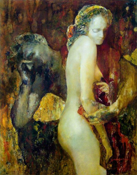 Венера и Сатир.