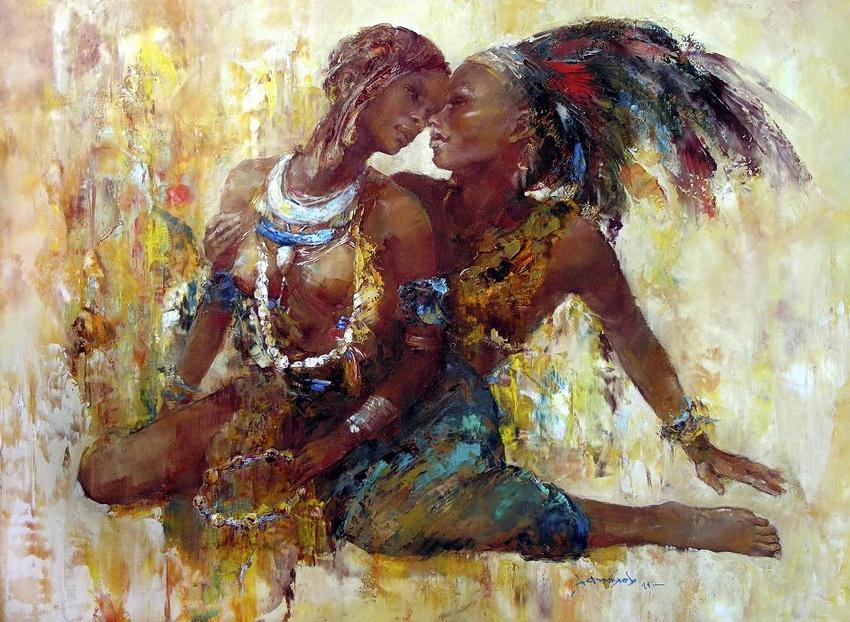 Влюбленные племени Мурси