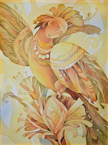 дівчина-птаха