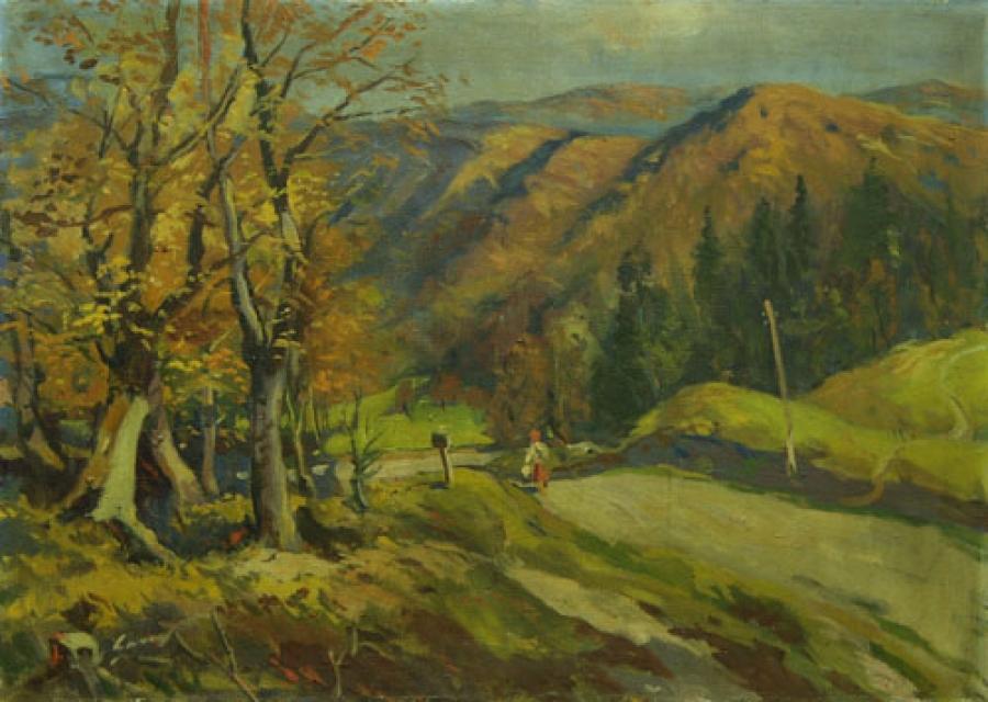 Осінній пейзаж