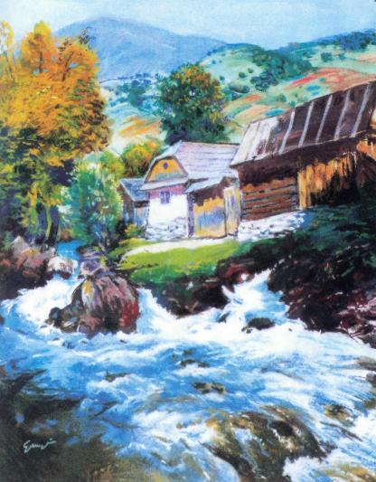 Река Тиса.