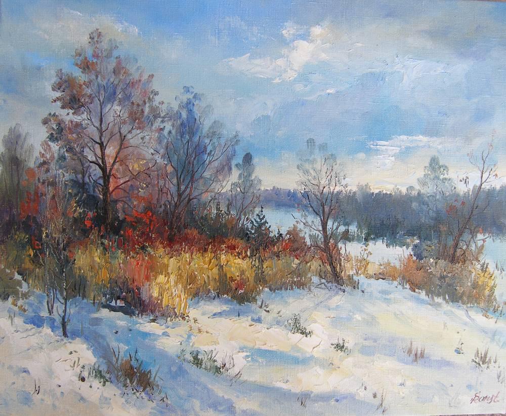 Сніг в листопаді