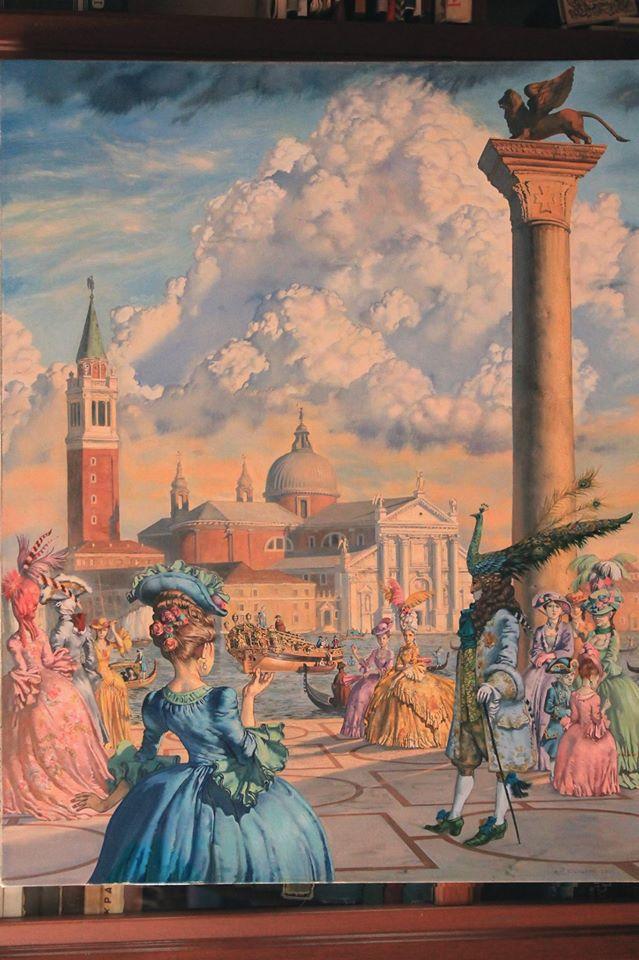 Сонячний, Теплий Вечір в Венеції.