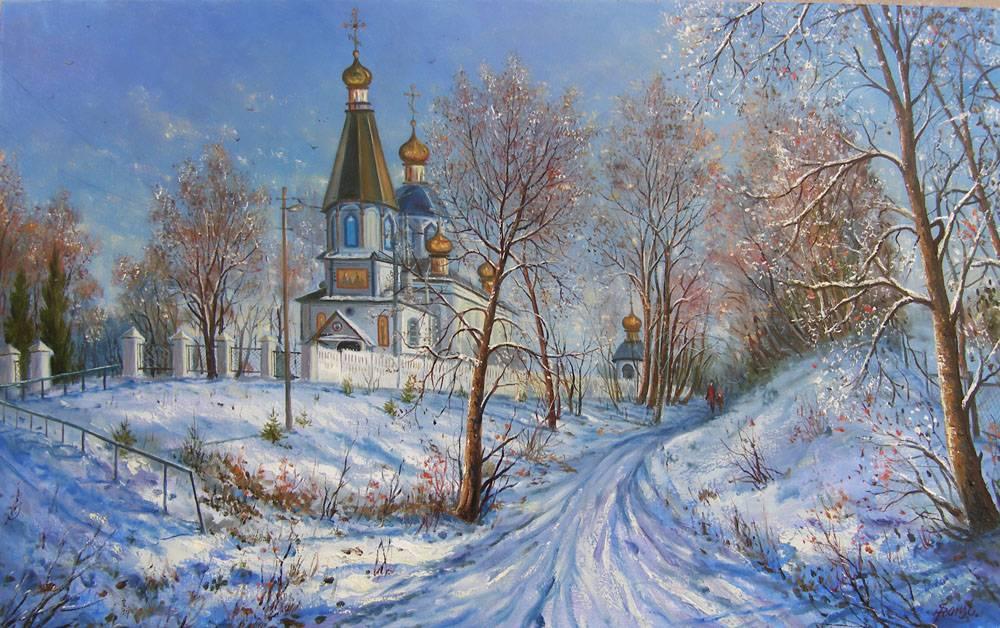 Церковь в с. Колоденка возле г. Ровно.
