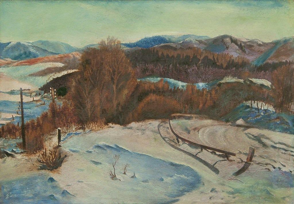 Зимовий краєвид.