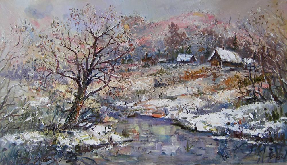 зима на околиці