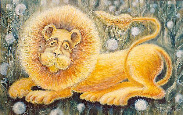 золотий лев
