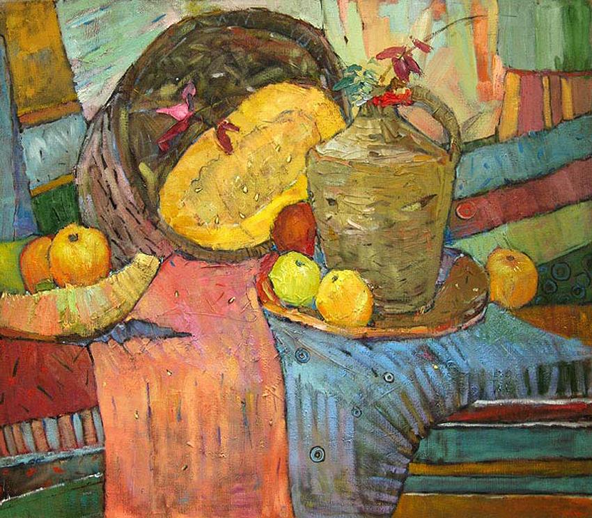 Диня і яблука