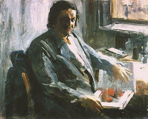 Портрет художника Ю.М.Вінтаєва.