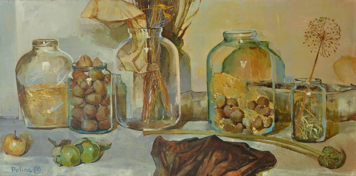Скляний натюрморт