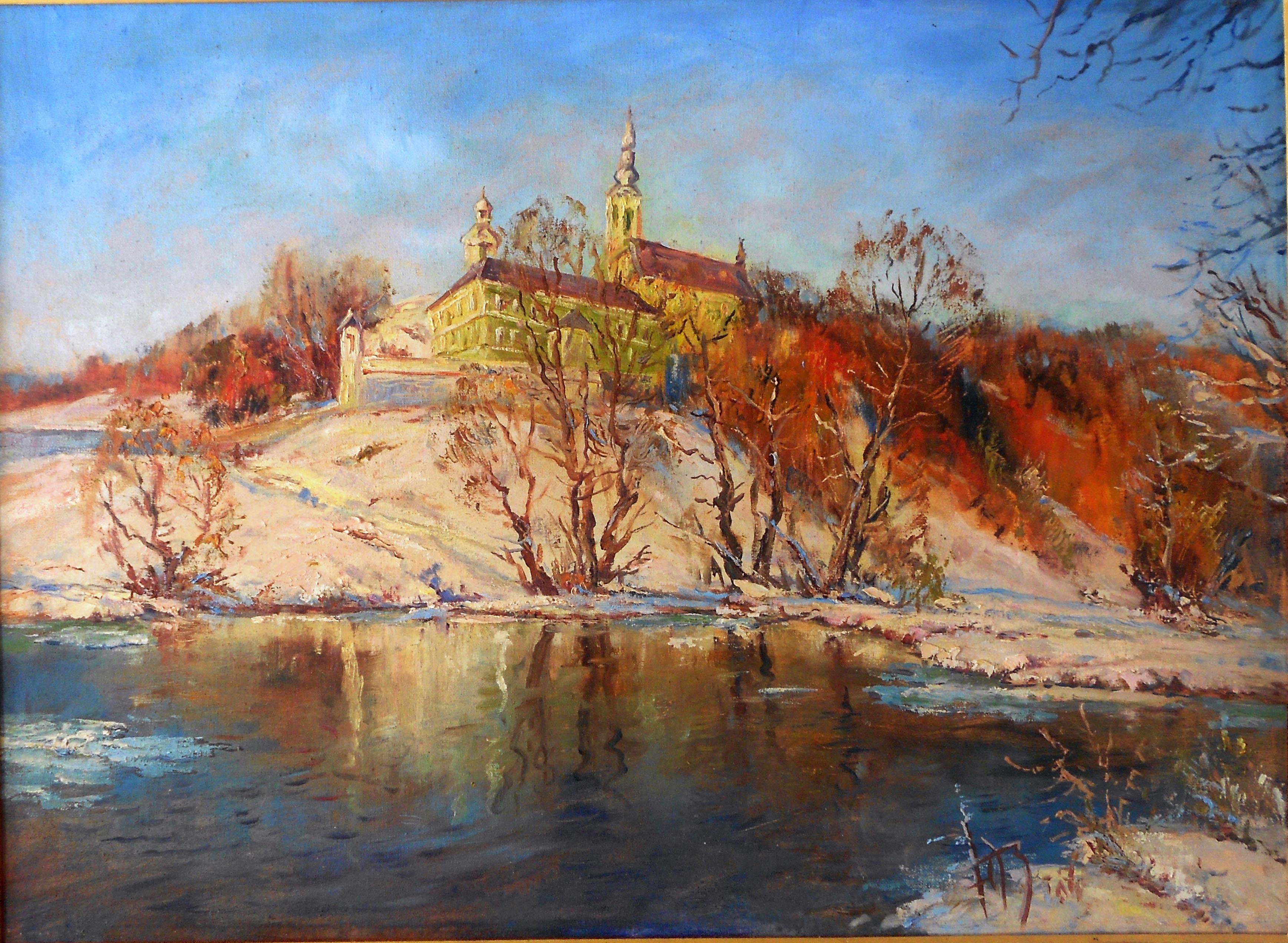 Святониколаевский монастырь над Латорицей