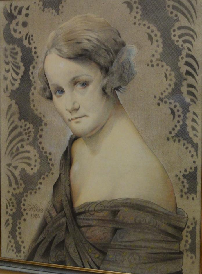 Портрет акторки Наталі Ужвій, 1926.