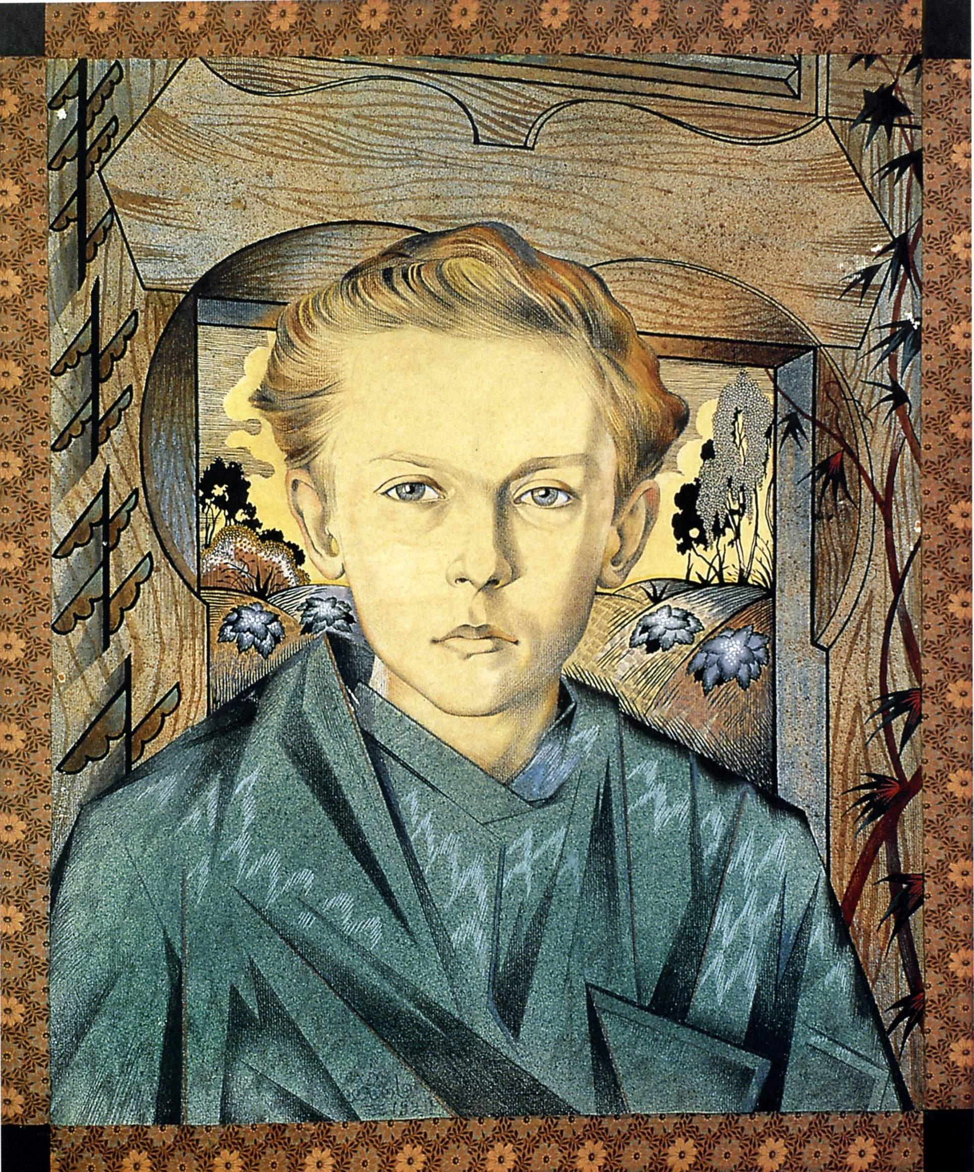 Портрет сына . 1920