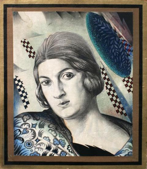 Жіночий портрет, 1924