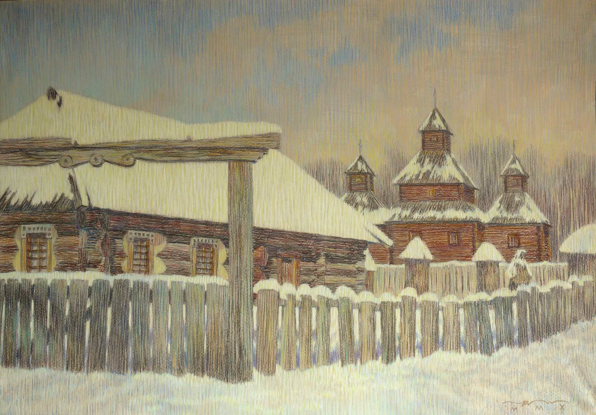 Зимняя сказка. Пирогово