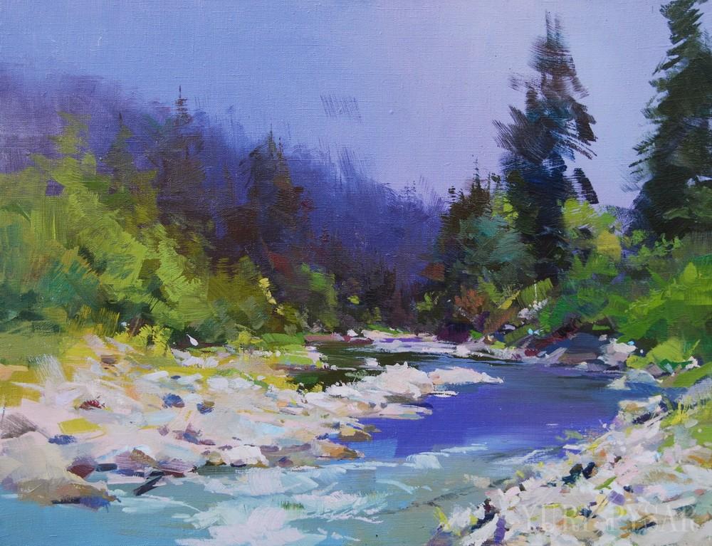 каміння і ріка