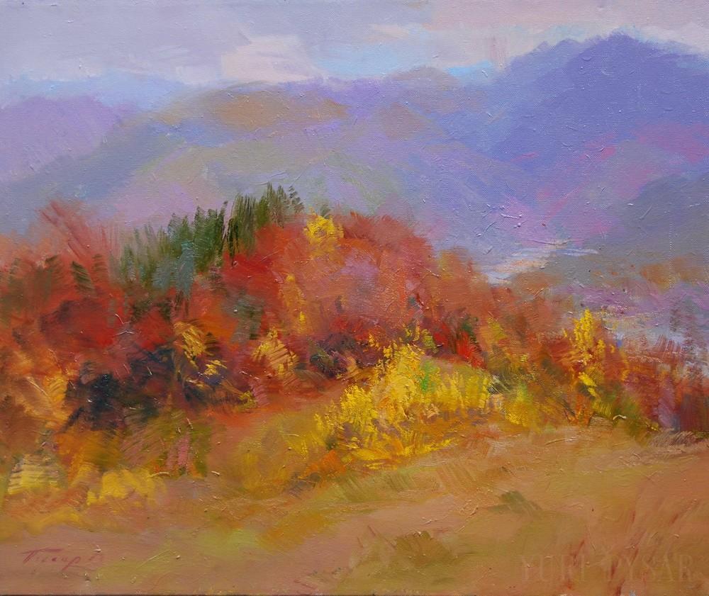 осінь в горах.рахів