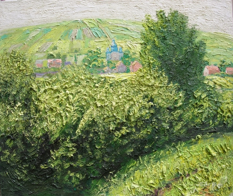 derevenskiy-peyzazh-s-tserkovyu