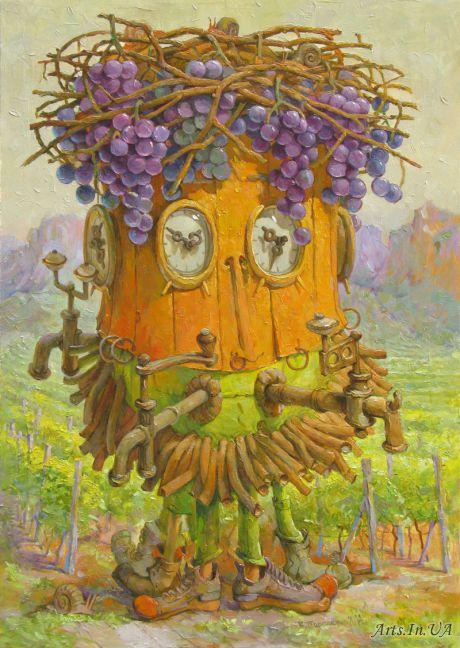 Время весны у винодела