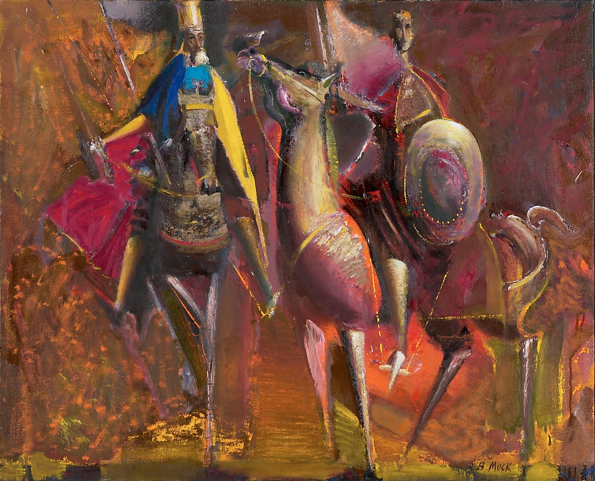 Король Данило і син його Лев.