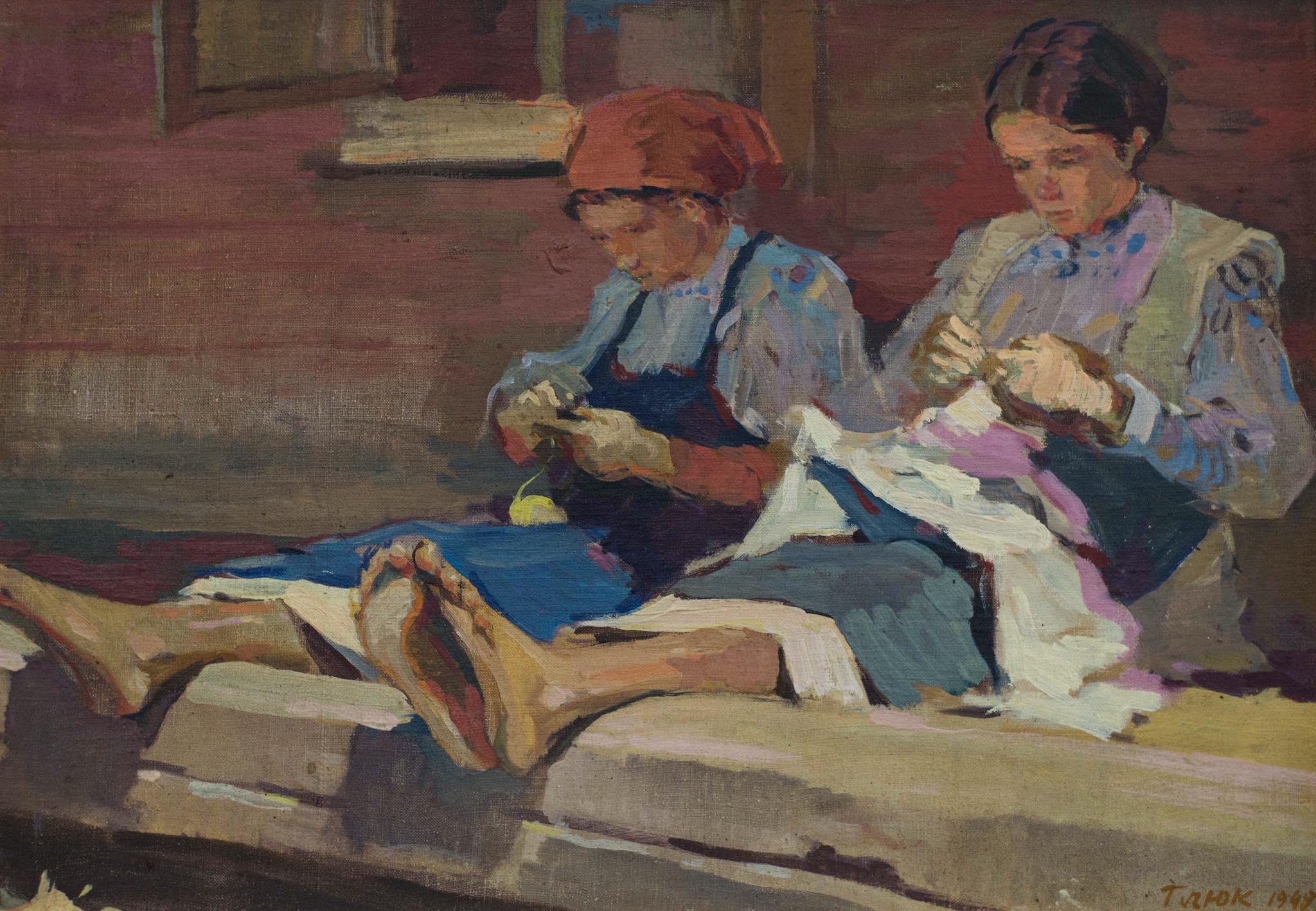 Дівчата, що вишивають