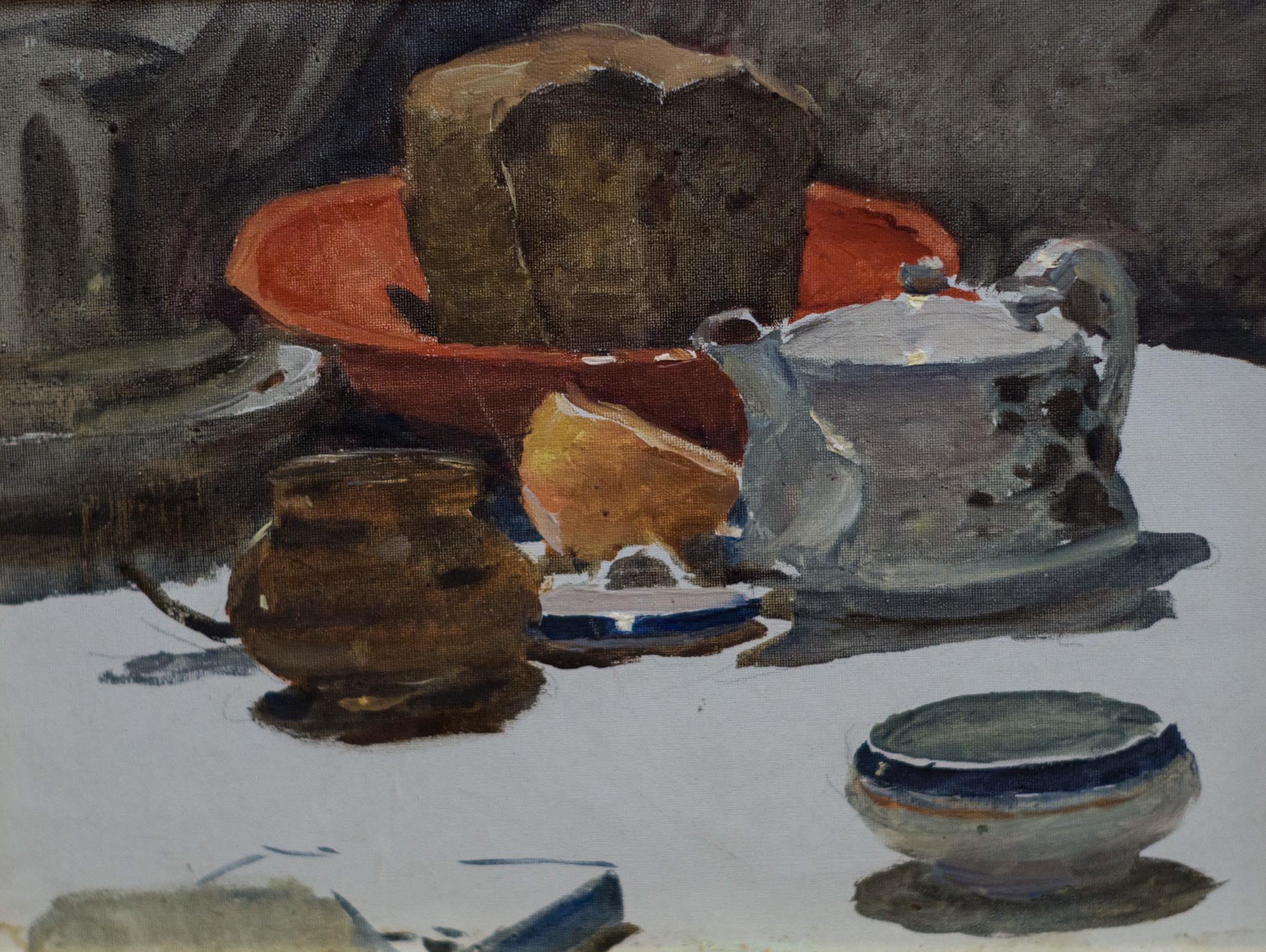Натюрморт з хлібом