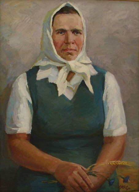 портрет матері