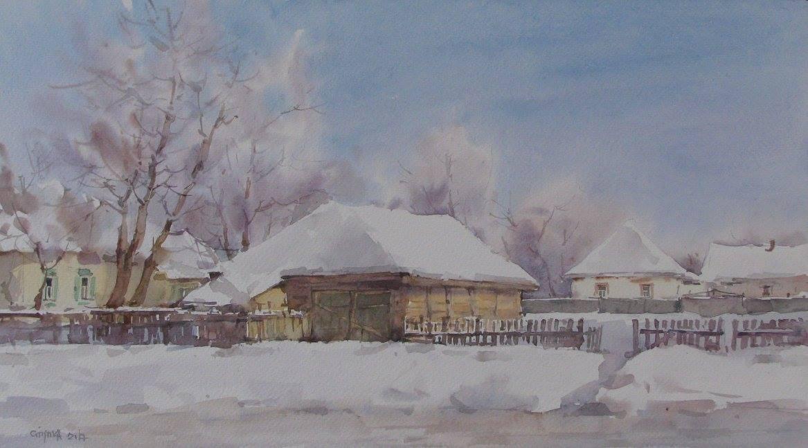 зима(Миргород)