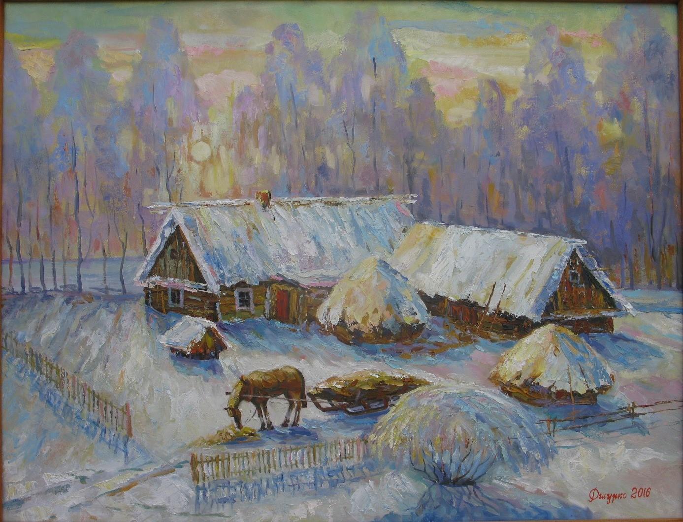 Зима біля Чуїхи