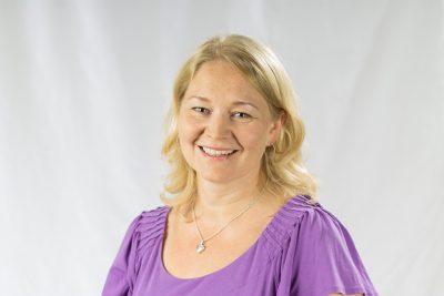 Mari Blek-Vehkaluoto. Kuva Cecilia Bergström